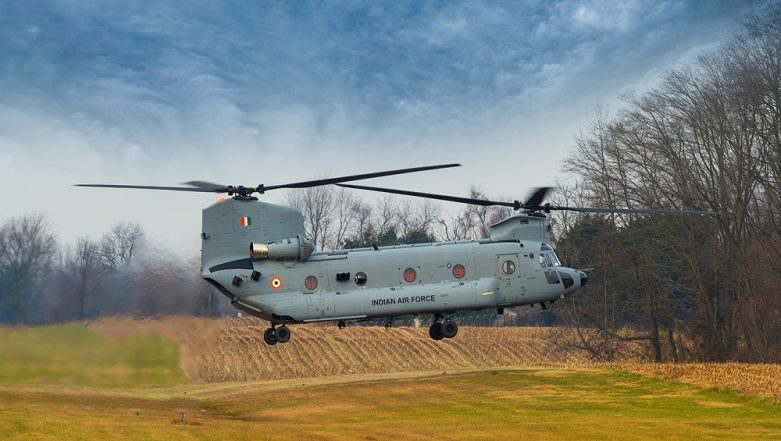 First Four CH-47F Chinooks for Indian Air Force Arrive at Mundra Port in Gujarat