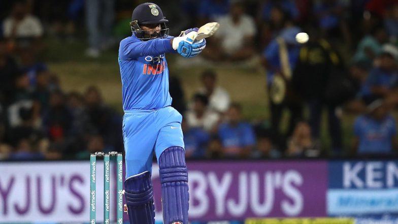 Harbhajan Singh and Sanjay Manjrekar Slam Dinesh Karthik For Turning Down a Single During IND vs NZ, 3rd T20I