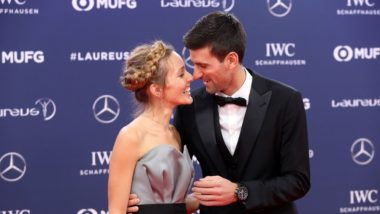 Novak Djokovic Wins a Fourth  2019 Laureus World Sports Awards , Woods Too Among Big Winners (Watch Video)