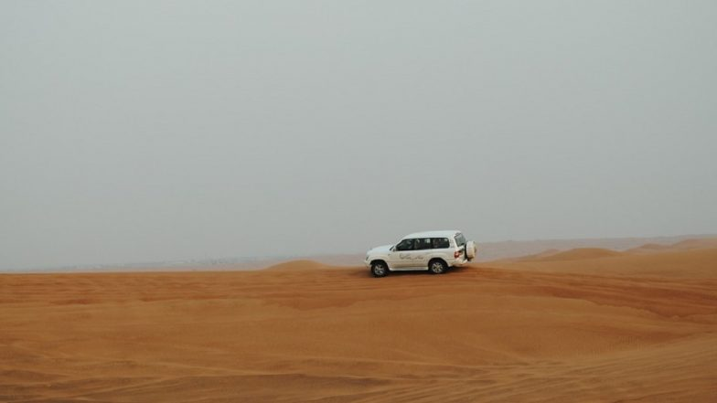 Indian Couple on Desert Safari Killed, 5 Others of the Family Injured As Car Flips Over in UAE