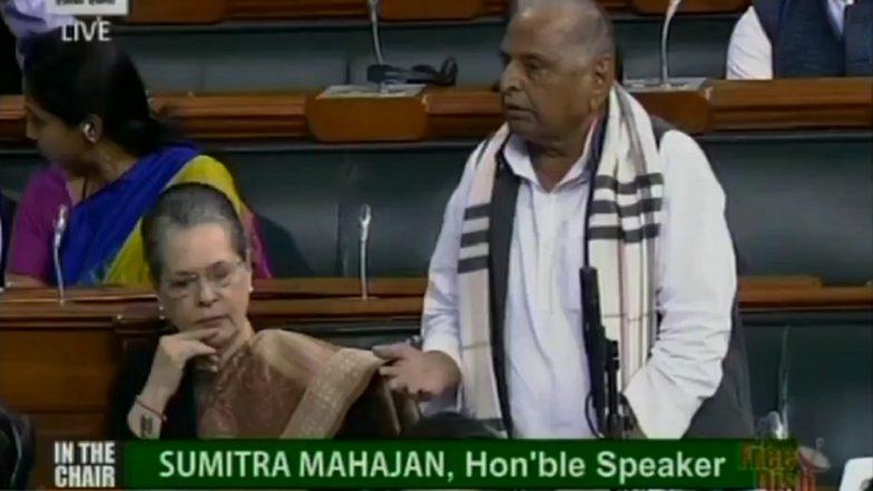 Samajwadi Party Leaders Tight-Lipped Over Mulayam Singh Yadav's Statement on Narendra Modi in Lok Sabha