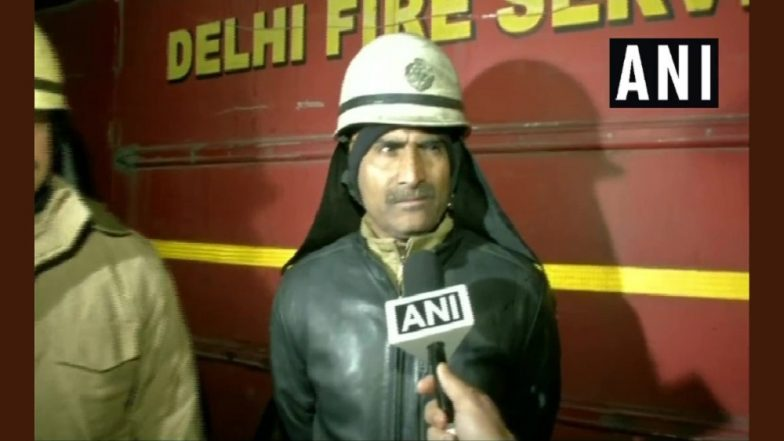 Delhi: Over 250 Shanties Gutted in a Major Fire in Paschim Puri Area, No Casualties Reported