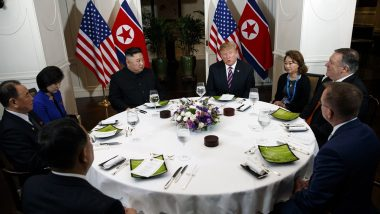 US-North Korea Summit in Vietnam: Donald Trump, Kim Jong-un Pose for Media, Praise Each Other and Enjoy Dinner Together at Second Summit