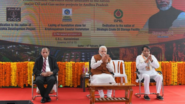 Andhra Pradesh: Narendra Modi Dedicates Vizag Petroleum Reserve Facility to Nation