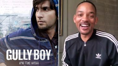 Will Smith Reviews Gully Boy; Is All Praises for Ranveer Singh! Watch Video