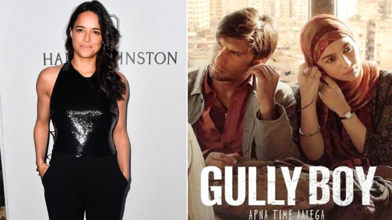 Gully Boy Celeb Review: Fast & Furious Actress Michelle Rodriguez Praises Ranveer Singh and Alia Bhatt's Film