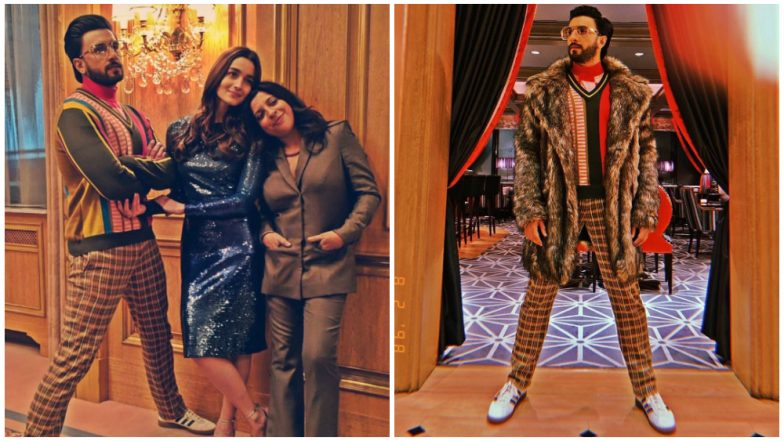 Ranveer Singh and Alia Bhat Promote Gully Boy in Berlin as the Movie Premieres at a Film Festival There - See Pics