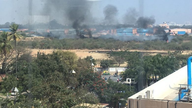 Mirage 2000 Trainer Fighter Aircraft of HAL Crashes in Bengaluru, Both Pilot Dead