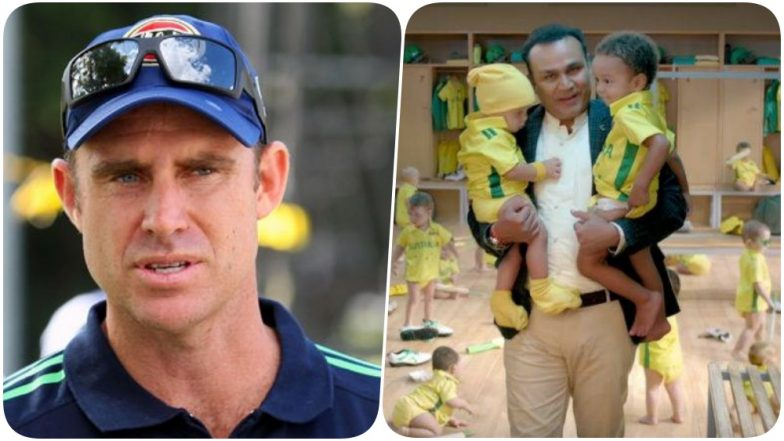 Matthew Hayden WARNS Virender Sehwag & Star Sports for Baby Sitting Ad; Says, 'Never Take Aussies for a Joke'