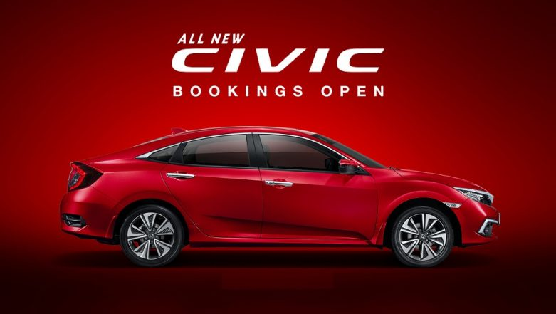 2019 Honda Civic India Launch on March 7, 2019; Official Bookings Open at Rs 31,000