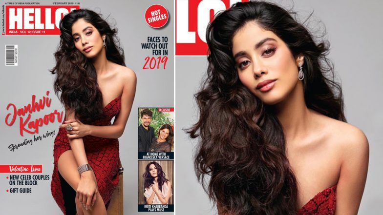 Janhvi Kapoor is Hotness Personified in Her Latest Photoshoot for Hello! India - View Pics