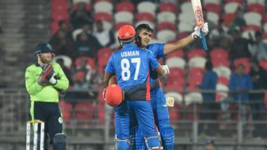 Afghanistan vs Ireland, 2nd T20I 2019: List of Records Made and Broken Including Highest Twenty20 Total and Most Sixes in an Innings