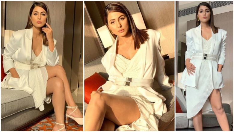 Kasautii Zindagii Kay 2 Actress Hina Khan Looks Like a Vision in White in Her Latest Instagram Pictures