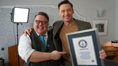 Hugh Jackman Lands Guinness World Record for His Role as Wolverine in the X-men Films - Watch Video