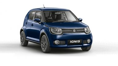 2019 Maruti Suzuki Ignis Car With New Safety Features Launched in India; Prices Start From Rs 4.79 Lakh