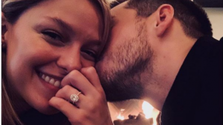 Melissa Benoist and 'Supergirl' Co-star Chris Wood Are Engaged! View Pic