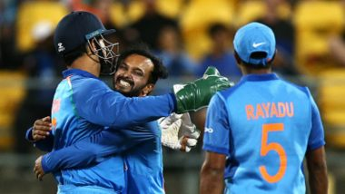 Live Cricket Streaming of India vs New Zealand T20I Series 2019 on Hotstar: Check Live Cricket Score, Watch Free Telecast Details of IND vs NZ 3rd T20I Match on TV & Online