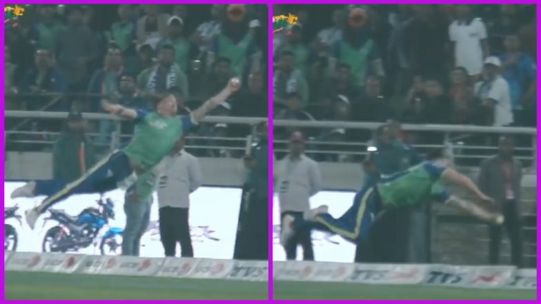 BPL 2019: Jason Roy Arguably Takes the Best Catch of the Bangladesh Premier League Season 6, Watch Video