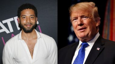 Donald Trump Lashes Out at Jussie Smollett on Twitter; Asks 'What about the People You Insulted with Your Racist Comments?'