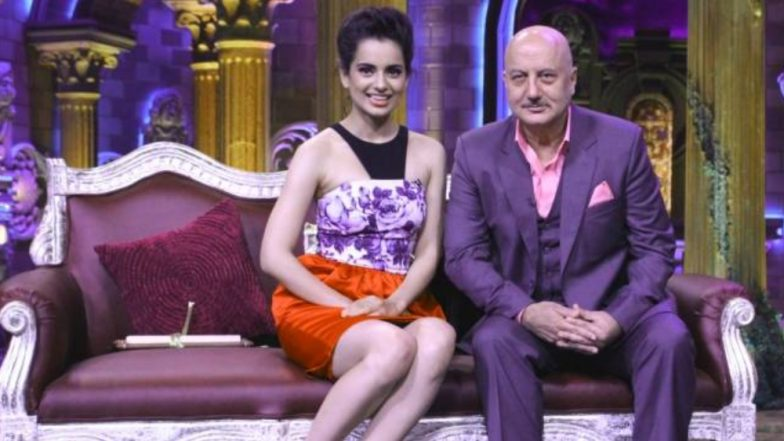 Anupam Kher Is in Awe of Kangana Ranaut; Calls Her the 'Real Example of Women Empowerment'