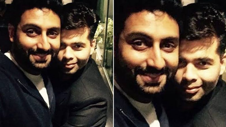 Karan Johar's Birthday Wish for Abhishek Bachchan Would Make You Want to Have a Rock-Solid Bestie Like Him