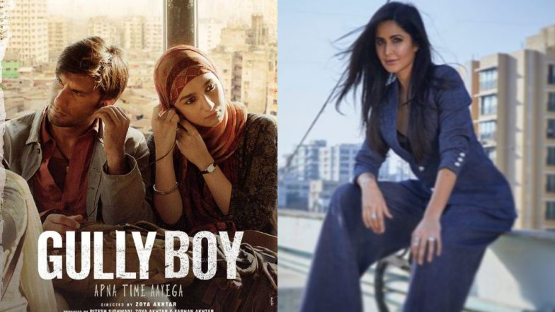 Katrina Kaif Is in Awe of Ranveer Singh's Gully Boy; Says Alia Bhatt Lights Up the Screen