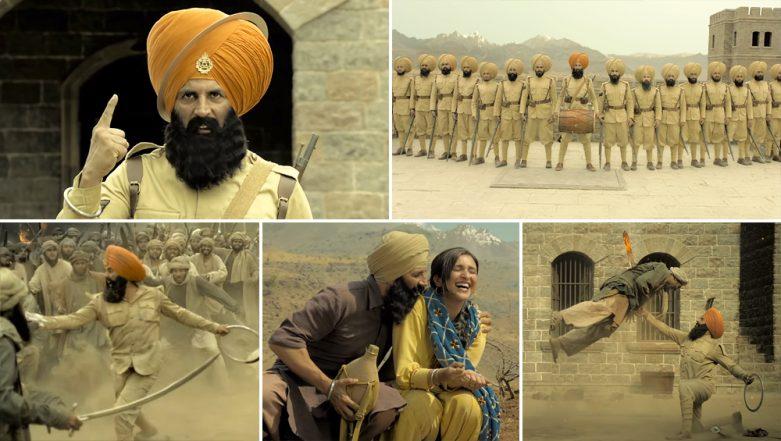 Kesari Trailer: Akshay Kumar and Parineeti Chopra Starrer Tells The Heroic Story of Nation's Unsung Warriors - Watch Video