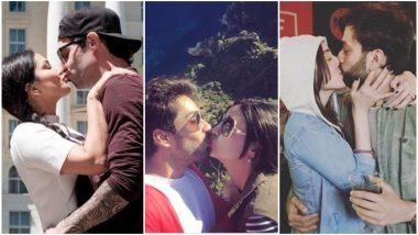 Happy Kiss Day 2019: Sunny Leone-Daniel Webber, Sanaya Irani-Mohit Sehgal, Jankee Parekh-Nakuul Mehta, 5 Telly Couples Who Locked Lips on Social Media