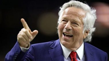 Bob Kraft, Owner of Super Bowl Team New England Patriots Charged of Prostitution