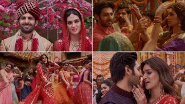 Luka Chuppi Song Tu Laung Main Elaachi: Kartik Aaryan and Kriti Sanon Are the Only Saving Grace of This Trashy Remake of the Popular Punjabi Number - Watch Video