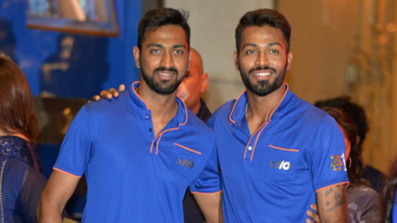 Hardik & Krunal Pandya Become The Third Sibling Duo To Play For India During IND v NZ T20, 2019
