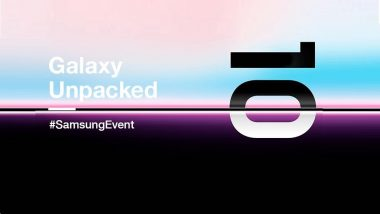 Galaxy S10 Launch Event Live News Updates: Samsung Launched Galaxy S10, Galaxy Fold at $749 & $1980; Galaxy S10 5G Announced