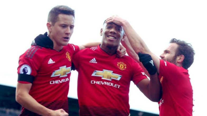 Martial's stunning solo effort caps United's easy win over Fulham