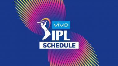 IPL 2019 Schedule: Fixtures Announced for First Two Weeks (March 23-April 5)
