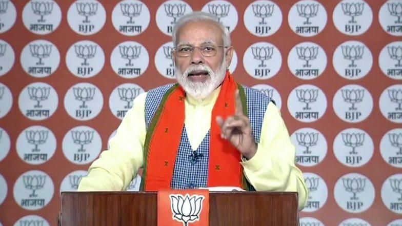 PM Narendra Modi to File Nomination From Varanasi on April 26; Uddhav Thackeray, Nitish Kumar & Sukhbir Badal to Accompany Him