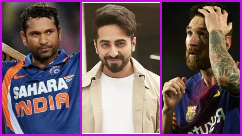 Sachin Tendulkar or Lionel Messi? Ayushmann Khurrana Rates Indian Batting Legend Above Argentine Football Star