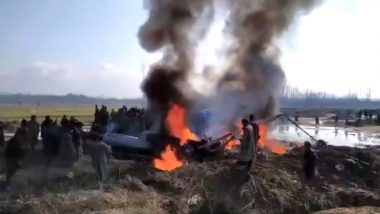 Budgam Mi-17 Helicopter Crash: Senior IAF Officer, 3 Others to Face Strict Disciplinary Action After 'Friendly Fire' Brought Down Chopper on February 27