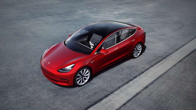 Tesla cuts price of Model 3 - but not to $35K