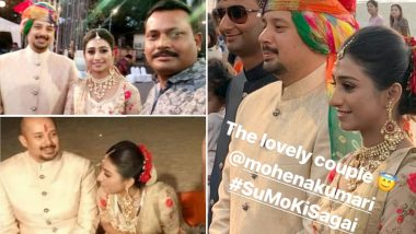 Yeh Rishta Kya Kehlata Hai Actress Mohena Kumari Singh Gets Engaged; Co-Stars Shivangi Joshi and Mohsin Khan Attend The Do In Goa! View Pics