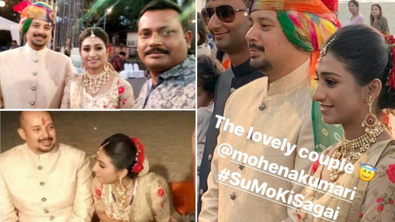 Yeh Rishta Kya Kehlata Hai Actress Mohena Kumari Singh Gets Engaged; Co-Stars Shivangi Joshi and Mohsin Khan Attend The Do In Goa! View Pics