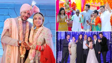 Neeti Mohan and Nihaar Pandya Look Splendid In Their Wedding Pictures!