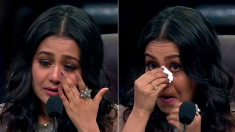 Neha Kakkar Cries Like a Baby After a Performance on Super Dancer 3 Reminded her of Her TRAGIC Break-Up With Himansh Kohli - Watch Video