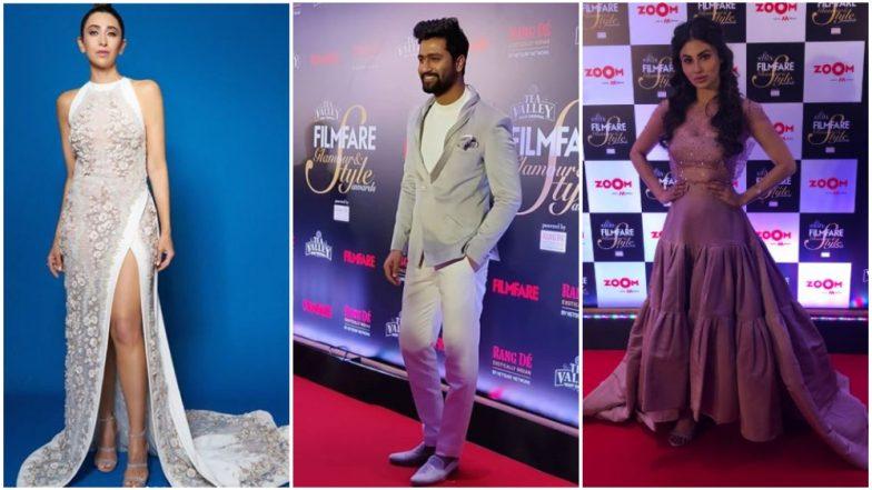Filmfare Glamour and Style Awards 2019: Vicky Kaushal, Karisma Kapoor and Mouni Roy Grace The Red Carpet!