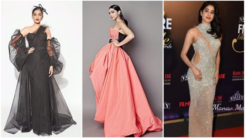 Filmfare Glamour and Style Awards 2019 Best Dressed: Deepika Padukone, Janhvi Kapoor and Sonam Kapoor Make our Eyeballs Pop Out With Their #OOTNs
