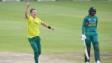 Live Cricket Streaming of Pakistan vs South Africa T20I Series on Sonyliv, PTV & Ten Sports: Check Live Cricket Score, Watch Free Telecast of PAK vs SA 3rd T20 2019 on TV & Online