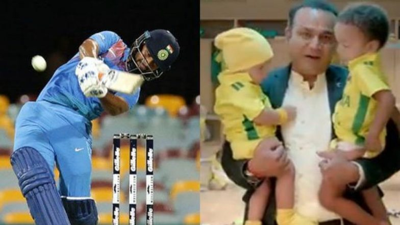 Rishabh Pant Has a Hilarious Take on Star Sports' Babysitting Ad Featuring Virender Sehwag Ahead of India vs Australia 2019