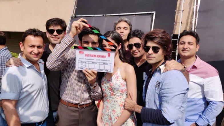 Kartik Aaryan and Ananya Pandey Begin Shooting for Pati, Patni Aur Woh – See Pic