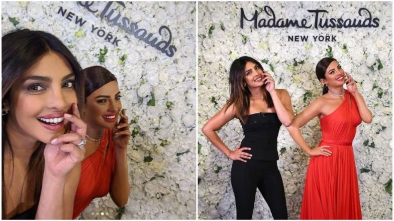 Priyanka Chopra Unveils Her Wax Statue in Madame Tussauds in New York! See Pics of 'Isn't It Romantic' Actress Making a Stunning Appearance