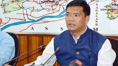 Pema Khandu Tests COVID-19 Positive, Arunachal Pradesh CM Self-Isolates After Contracting Coronavirus