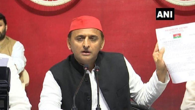 Akhilesh Yadav Slams Uttar Pradesh CM, Says 'Yogi Adityanath Prevented Me from Flying to Allahabad'
